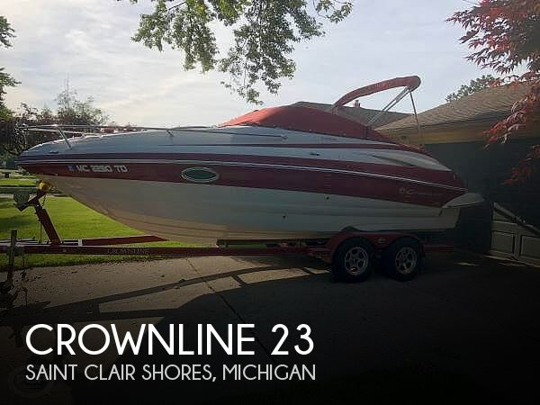 Used Crownline Boats For Sale in Michigan by owner | 2008 Crownline 23