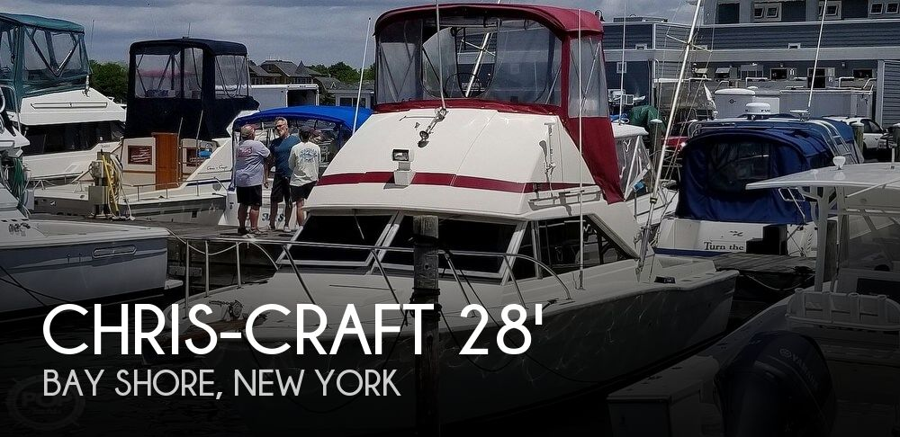 Used Boats For Sale in Bridgeport, Connecticut by owner | 1971 Chris-Craft Commander 28 FB