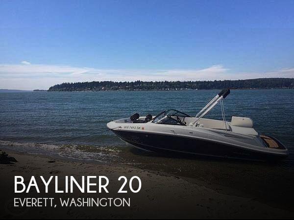 Used Bayliner Boats For Sale in Washington by owner | 2017 Bayliner 20