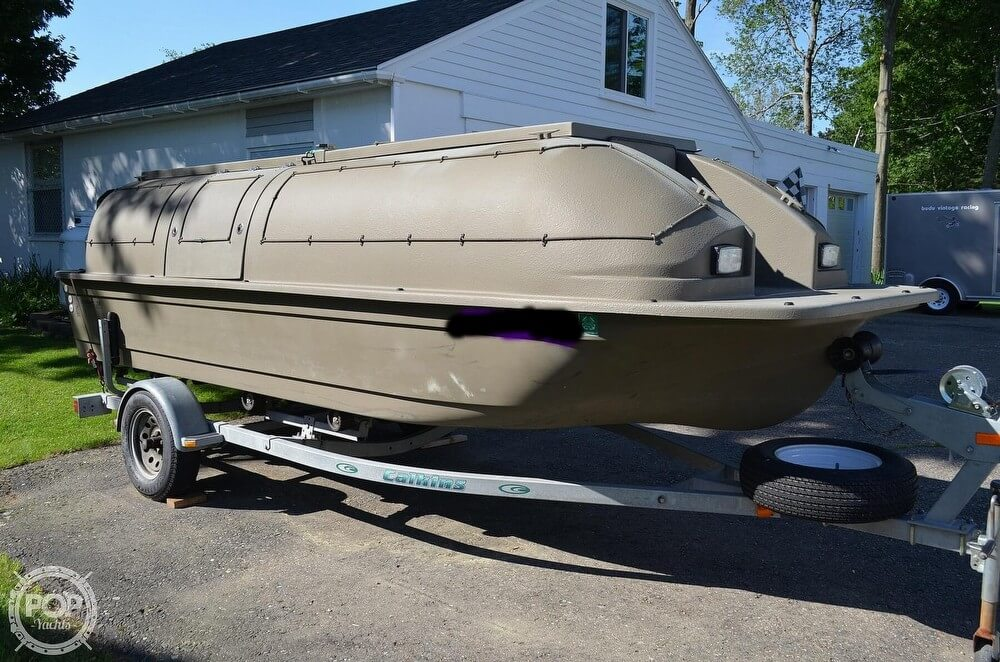 1999 Baja boat for sale, model of the boat is Duck Hunting 18 & Image # 3 of 41