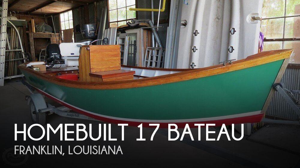 2005 Homebuilt boat for sale, model of the boat is 17 Bateau & Image # 1 of 40