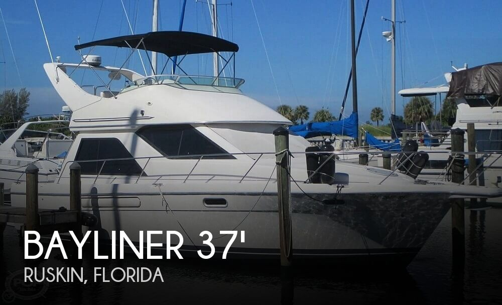 Used Bayliner Motoryachts For Sale by owner | 1996 Bayliner 37