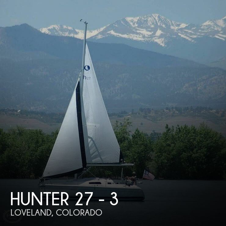 Used Boats For Sale in Colorado by owner | 2008 Hunter 27