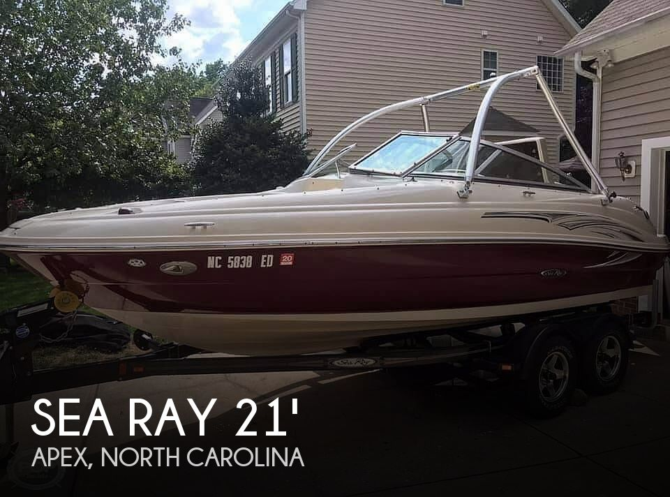 Used Sea Ray Boats For Sale in North Carolina by owner | 2006 Sea Ray 21
