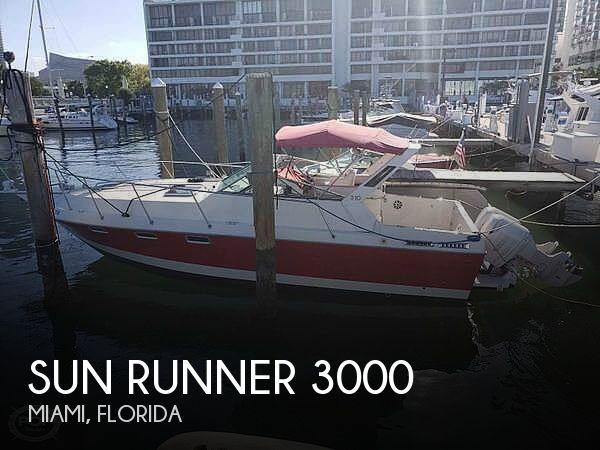 Used Sun runner Boats For Sale by owner | 1986 Sun Runner 31