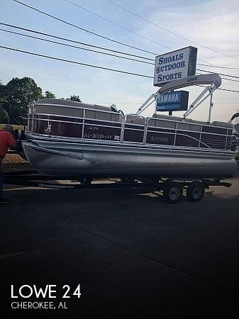 Used Lowe Pontoon Boats For Sale by owner | 2017 Lowe 24