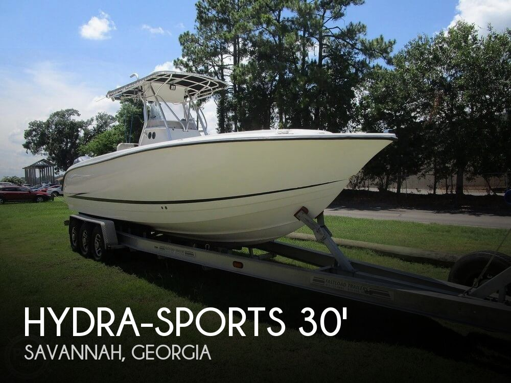 Used Boats For Sale in Savannah, Georgia by owner | 2000 Hydra-Sports 3000 CC