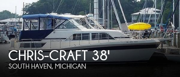 Used Chris-Craft Boats For Sale in Michigan by owner | 1984 Chris-Craft 381 Catalina