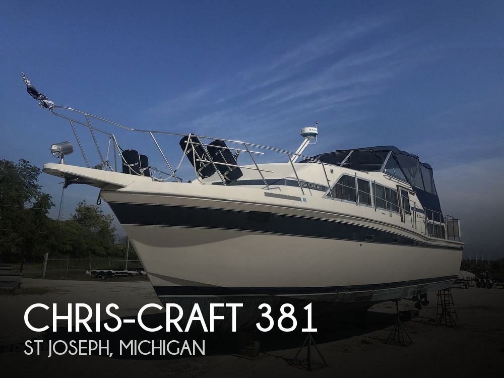 1984 Chris Craft boat for sale, model of the boat is 381 Catalina & Image # 1 of 40