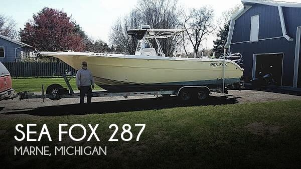 Used Sea Fox Boats For Sale by owner | 2003 Sea Fox 28