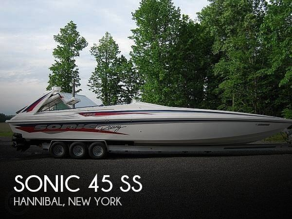 Used Boats For Sale in Rochester, New York by owner | 1998 Sonic 44