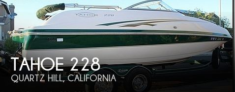 Used Boats For Sale in Bakersfield, California by owner | 2005 Tahoe 22