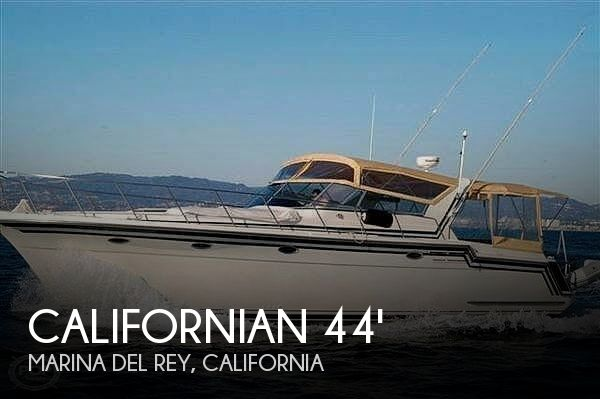Used Californian Boats For Sale by owner | 1987 Californian 44 Veneti Express Cruiser
