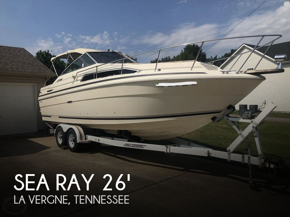 Used Power boats For Sale by owner | 1985 Sea Ray 260 Sundancer