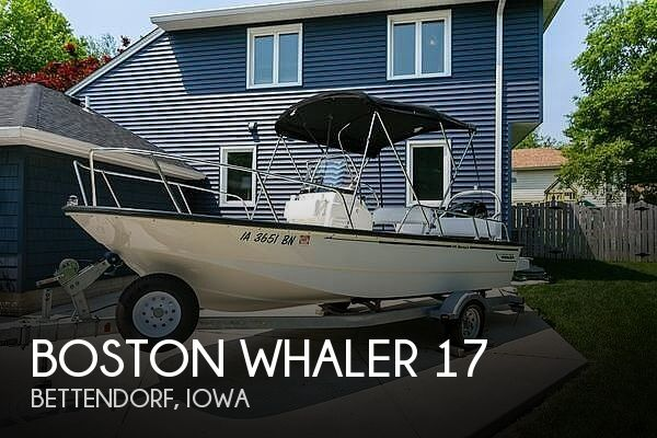 Used Boats For Sale in Davenport, Iowa by owner | 2015 Boston Whaler 17