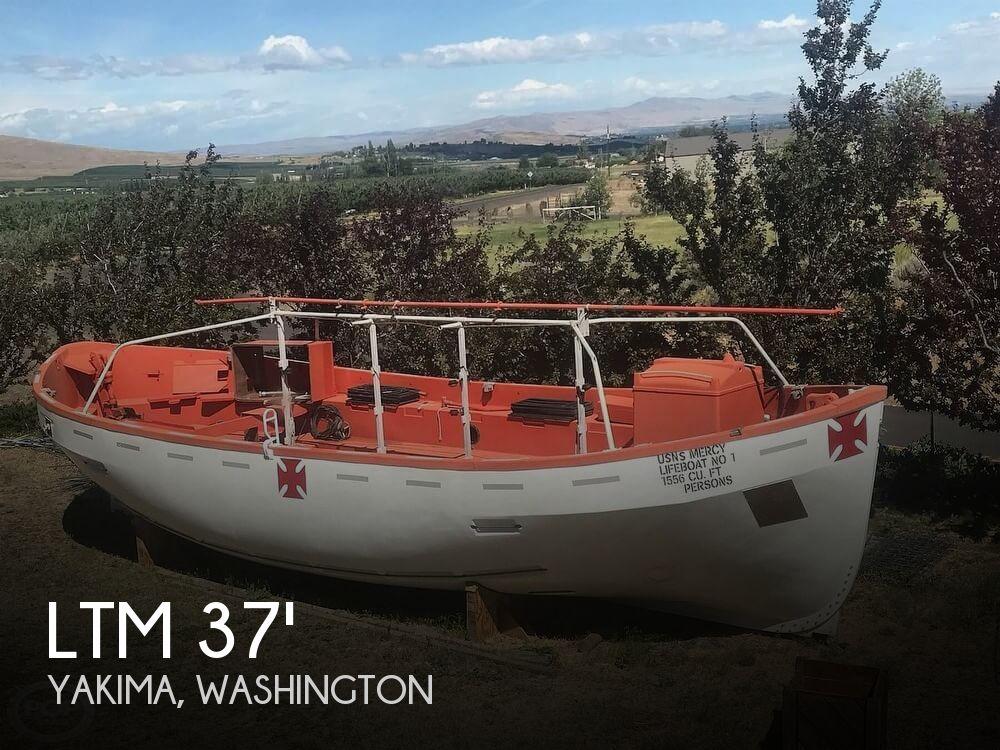1986 LTM Lane Motor Launch Lifeboat