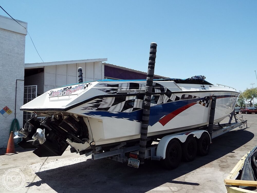1993 Stryker boat for sale, model of the boat is 3800 Thunder & Image # 2 of 25