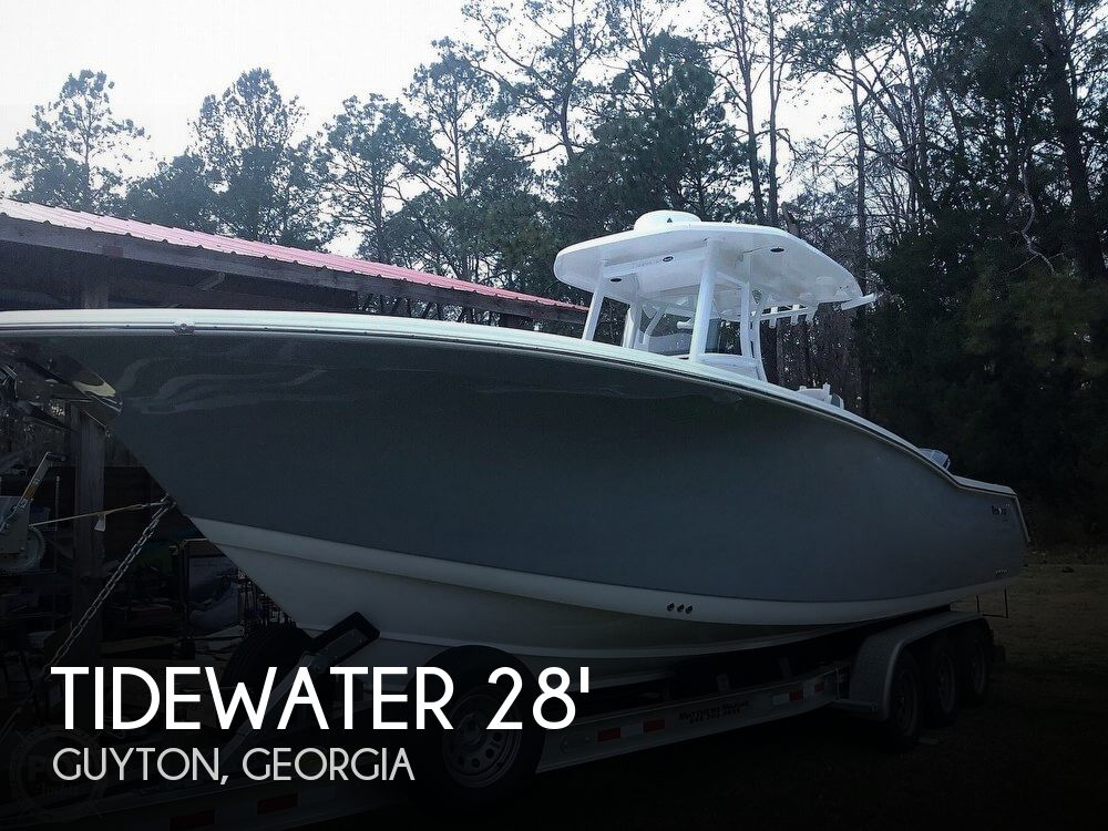 Used Boats For Sale in Georgia by owner | 2018 Tidewater 28