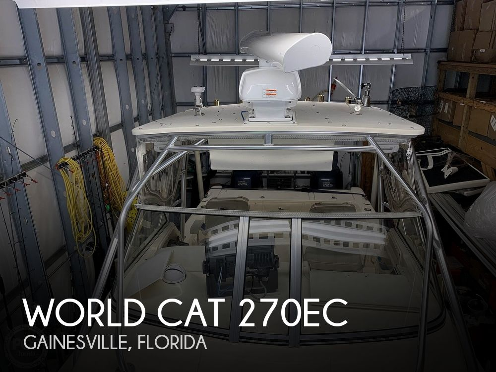 Used World Cat Boats For Sale by owner | 2004 World Cat 270EC