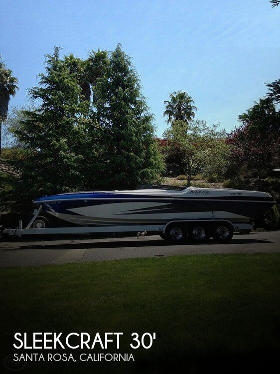 Used Sleekcraft Boats For Sale by owner   2007 Sleekcraft 30