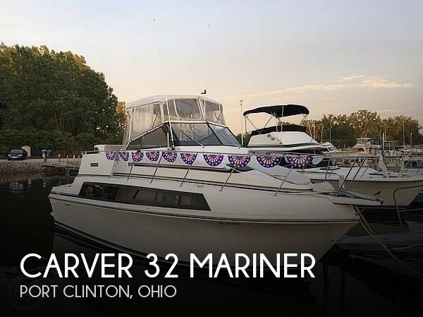 Used Motoryachts For Sale in Ohio by owner | 1988 Carver 32