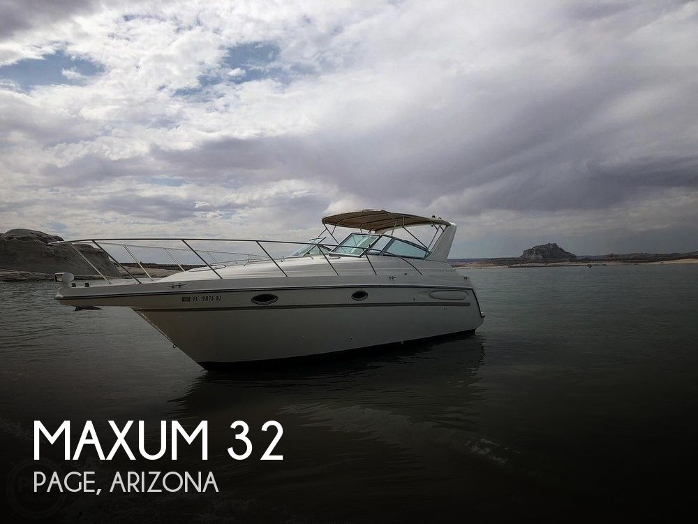 Used Maxum Boats For Sale by owner | 1999 Maxum 32