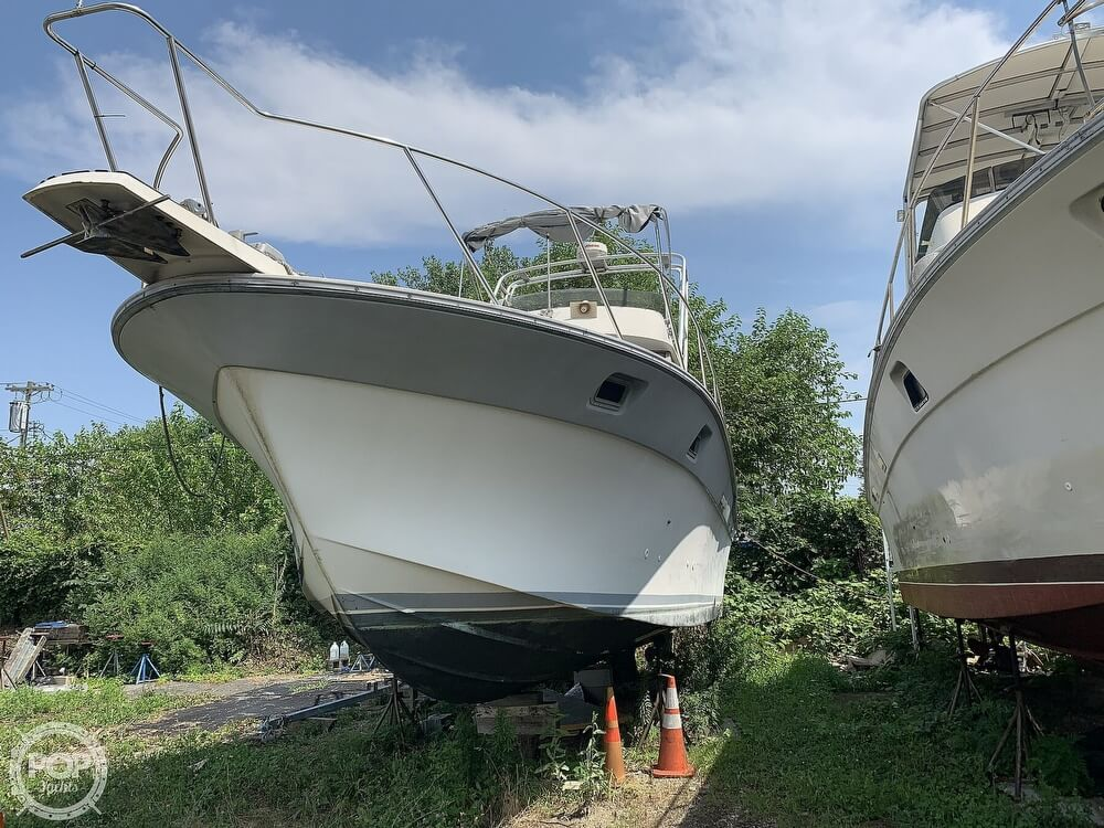 1988 Silverton boat for sale, model of the boat is 34 Convertible & Image # 2 of 40