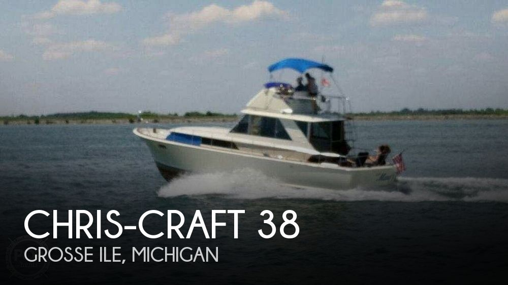 Used Chris-Craft Boats For Sale in Michigan by owner | 1966 Chris-Craft 38