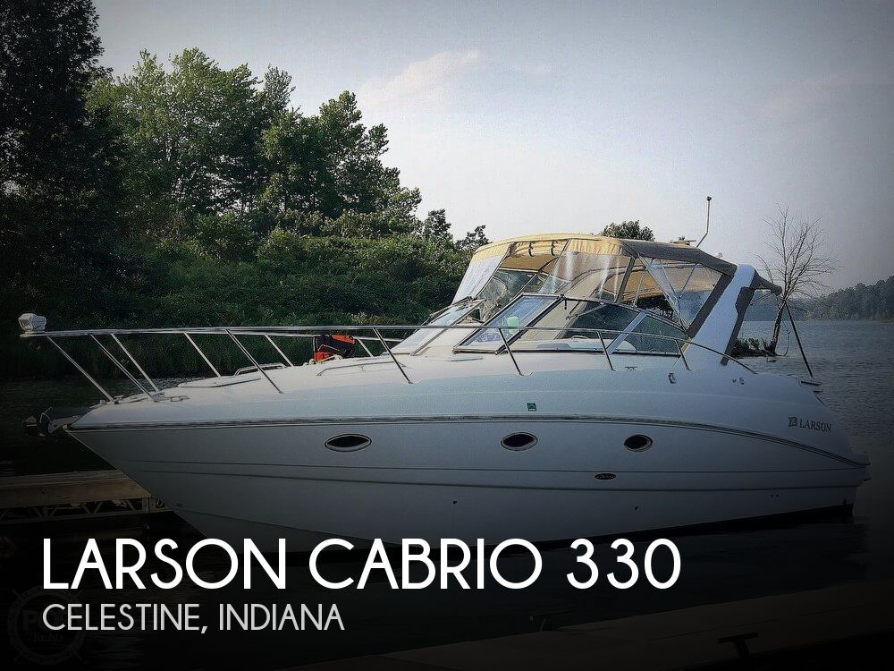 Used Boats For Sale in Evansville, Indiana by owner | 2001 Larson Cabrio 330