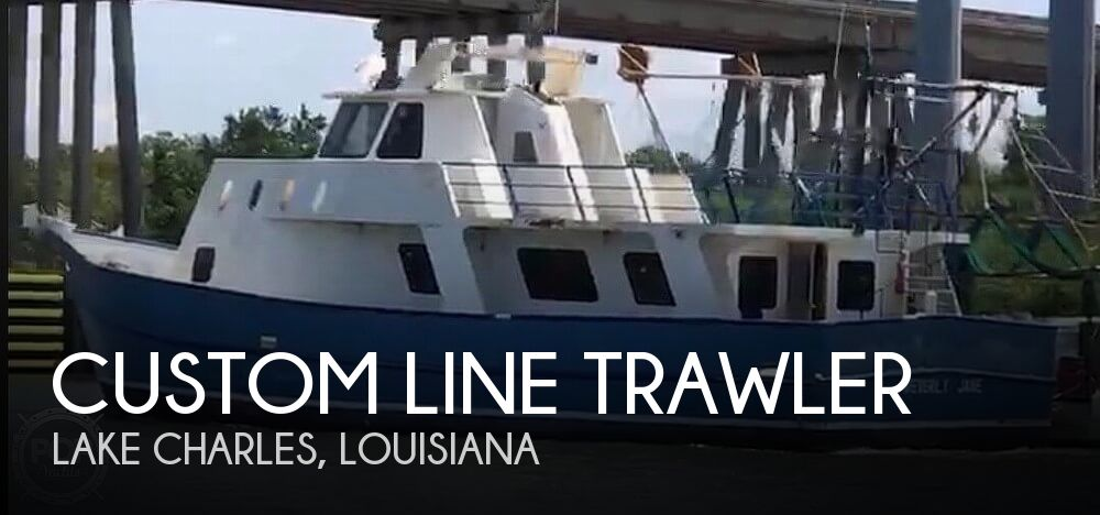 Used Boats For Sale in Beaumont, Texas by owner | 2007 Custom Line Trawler 62