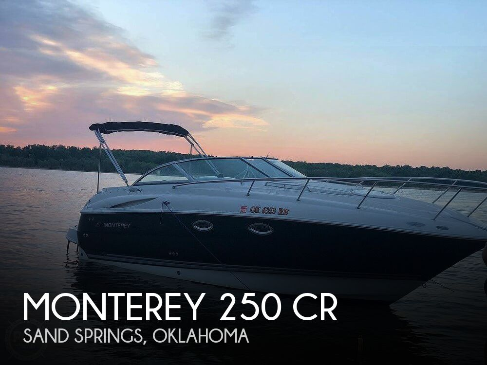 Used Monterey Boats For Sale in Oklahoma by owner | 2005 Monterey 24
