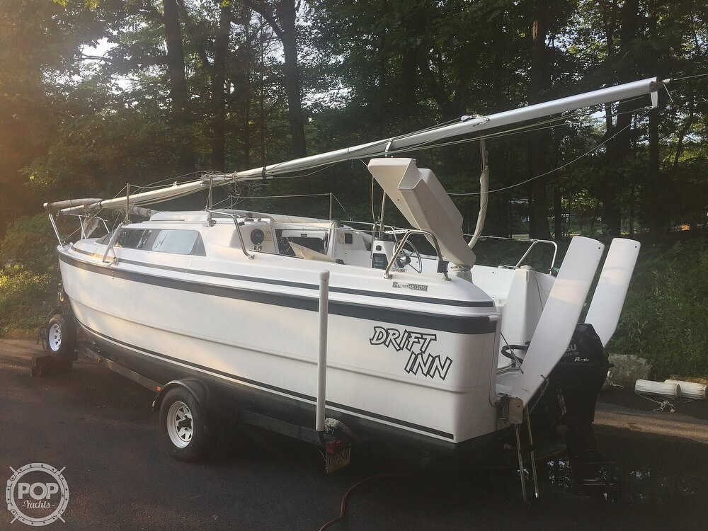 2002 Macgregor boat for sale, model of the boat is 26X & Image # 6 of 41