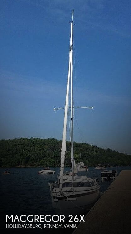 2002 Macgregor boat for sale, model of the boat is 26X & Image # 1 of 41