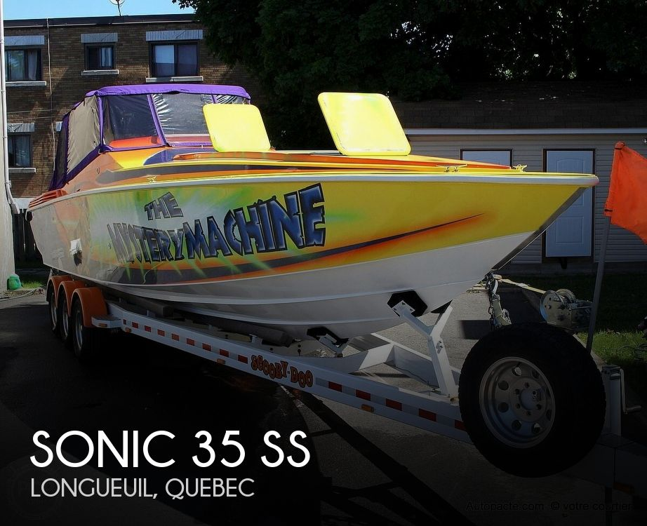 1997 Sonic boat for sale, model of the boat is 35 SS & Image # 1 of 37
