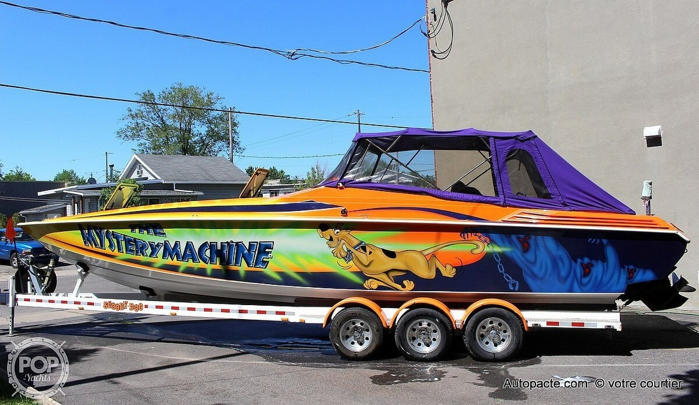 1997 Sonic boat for sale, model of the boat is 35 SS & Image # 4 of 37