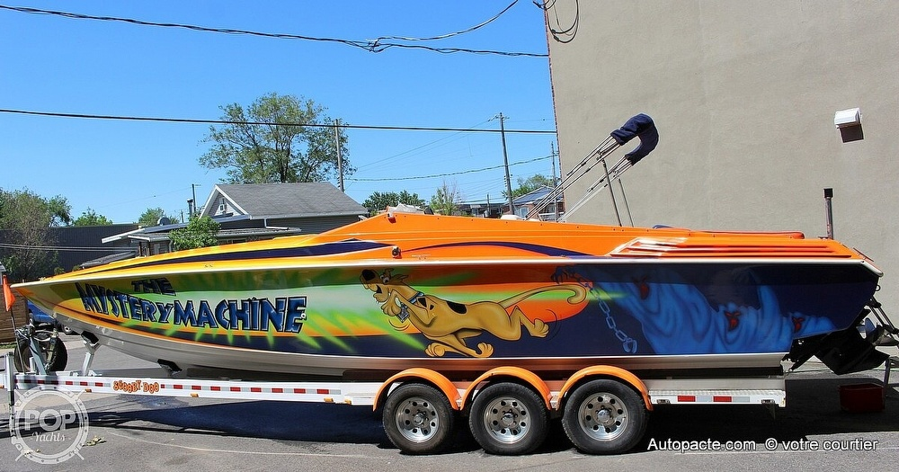 1997 Sonic boat for sale, model of the boat is 35 SS & Image # 5 of 37