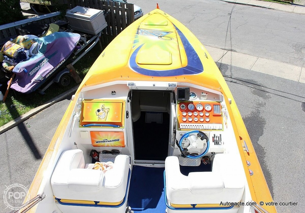 1997 Sonic boat for sale, model of the boat is 35 SS & Image # 8 of 37