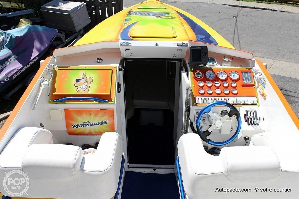 1997 Sonic boat for sale, model of the boat is 35 SS & Image # 9 of 37