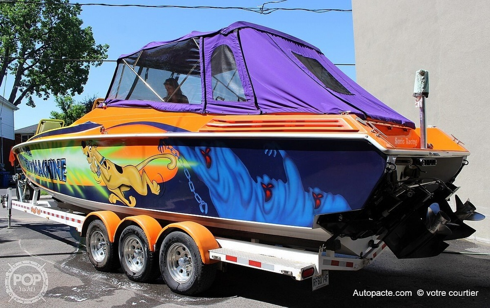 1997 Sonic boat for sale, model of the boat is 35 SS & Image # 32 of 37