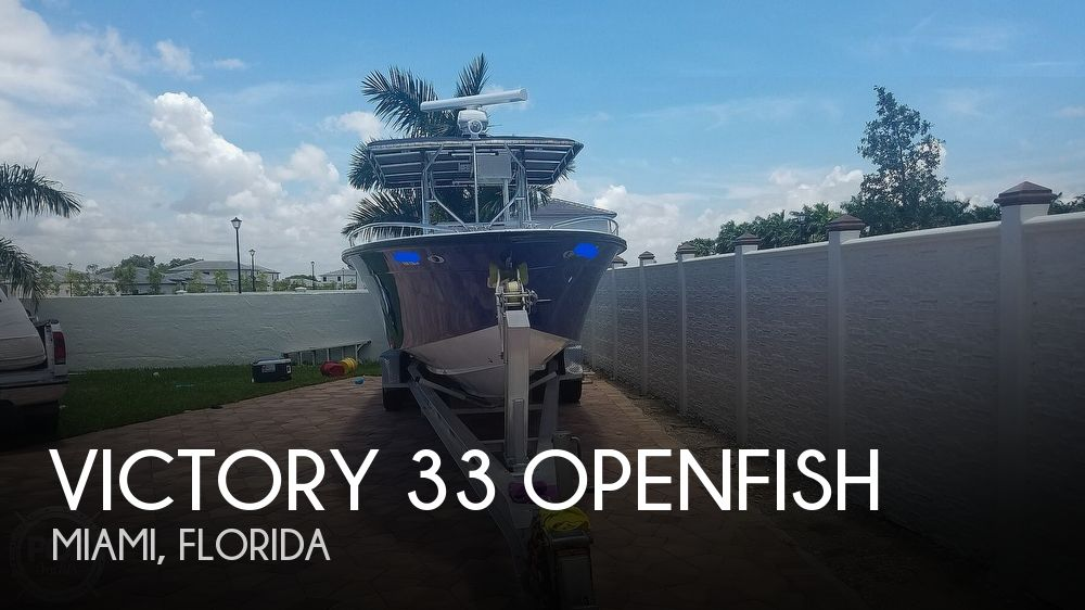 1987 Victory 33 Openfish