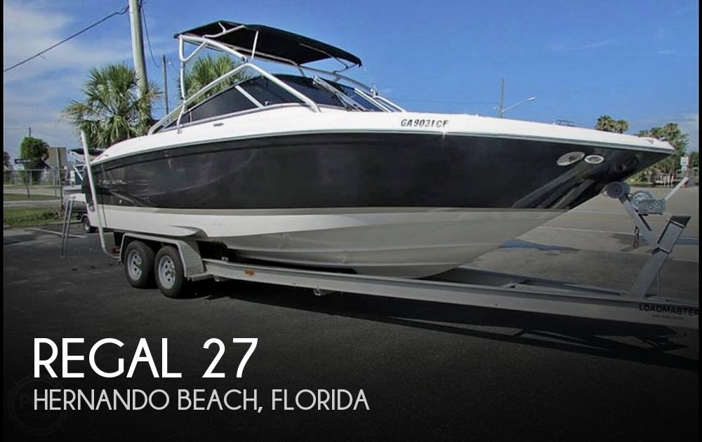 Used Regal 27 Boats For Sale by owner | 2007 Regal 27