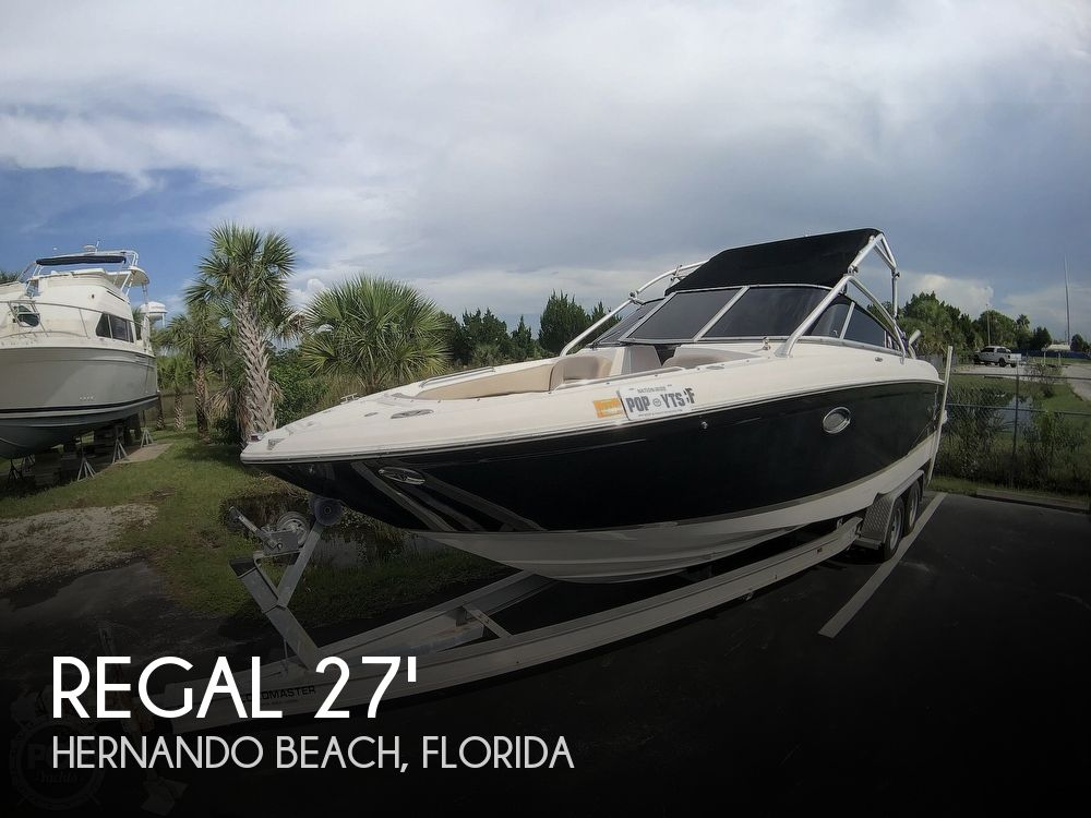 2007 Regal boat for sale, model of the boat is 2700 ES Bowrider & Image # 1 of 40