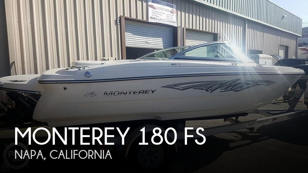 Used Boats For Sale in California by owner | 2011 Monterey 180 FS