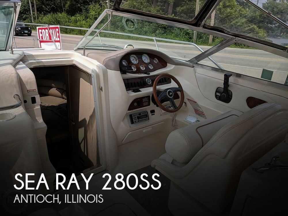 1998 Sea Ray boat for sale, model of the boat is 280SS & Image # 1 of 40