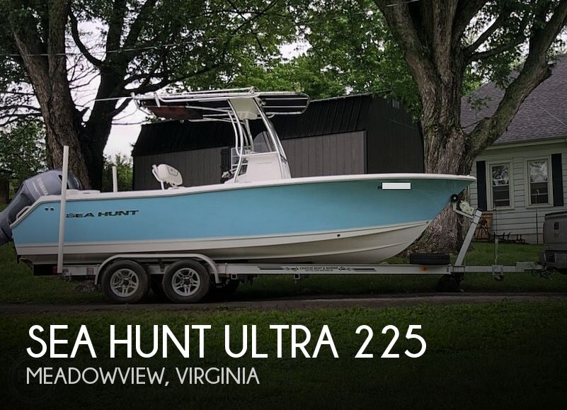 Used Boats For Sale in Kingsport, Tennessee by owner | 2015 Sea Hunt Ultra 225