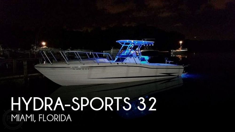 Used Hydra-Sports Boats For Sale by owner | 1989 Hydra-Sports 32