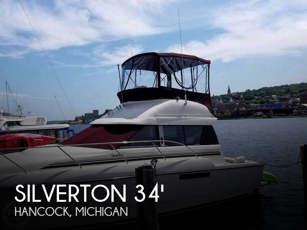 Used Fishing boats For Sale in Michigan by owner | 1992 Silverton 34