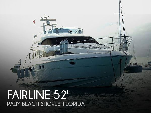 Used Fairline Boats For Sale by owner | 2001 Fairline 52