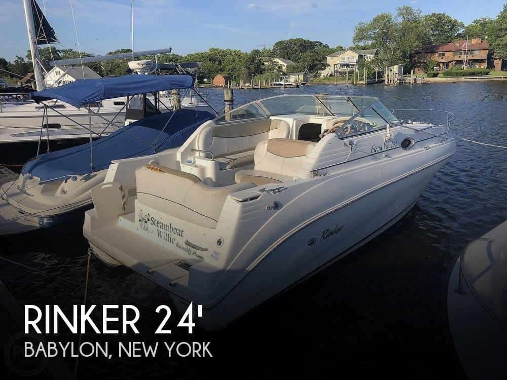 Used Rinker Boats For Sale in Bridgeport, Connecticut by owner | 2000 Rinker 24