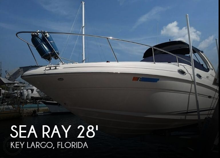 2004 Sea Ray boat for sale, model of the boat is 280 Sundancer & Image # 1 of 40